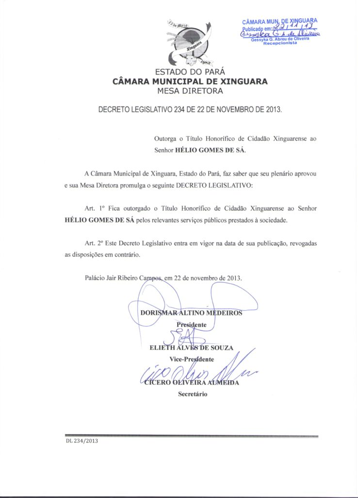 Decreto Legislativo nº 234