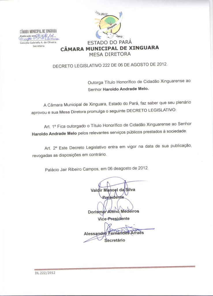 Decreto nº 222