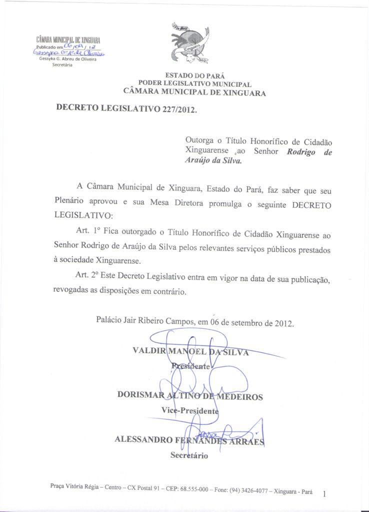 Decreto nº 227