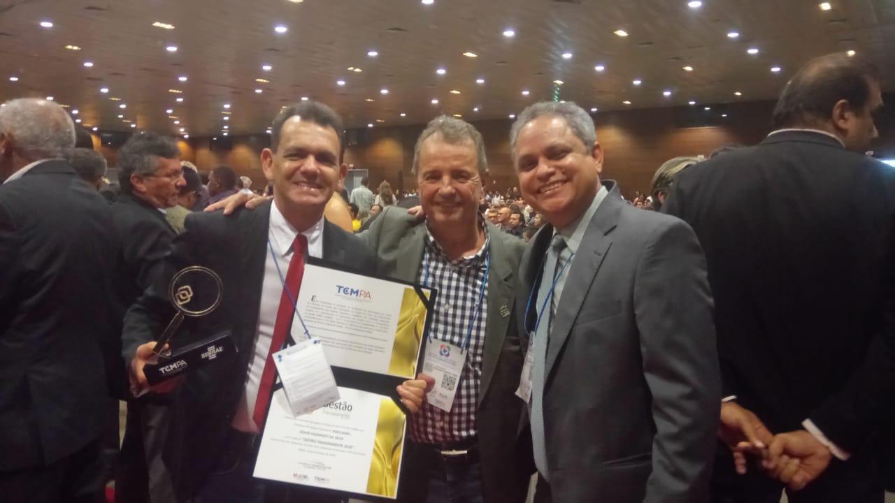 """TCM-PA encerra """"Encontro para o Fortalecimento da Gestão Municipal no Pará"""" com entrega do Selo Dourado Gestão Transparente 2018 – Câmara de Xinguara é premiada pelo segundo ano consecutivo"""