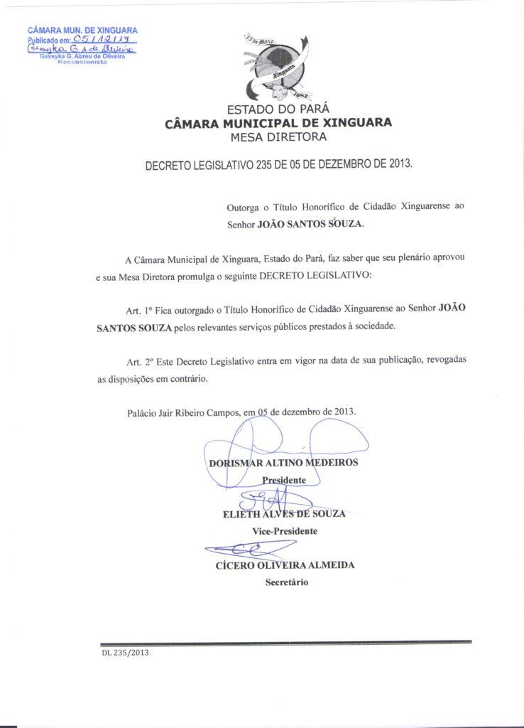 Decreto Legislativo nº 235