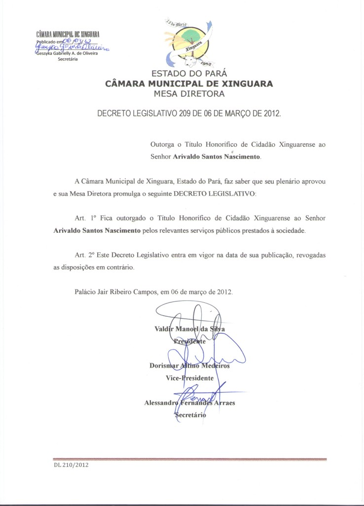 Decreto nº 209