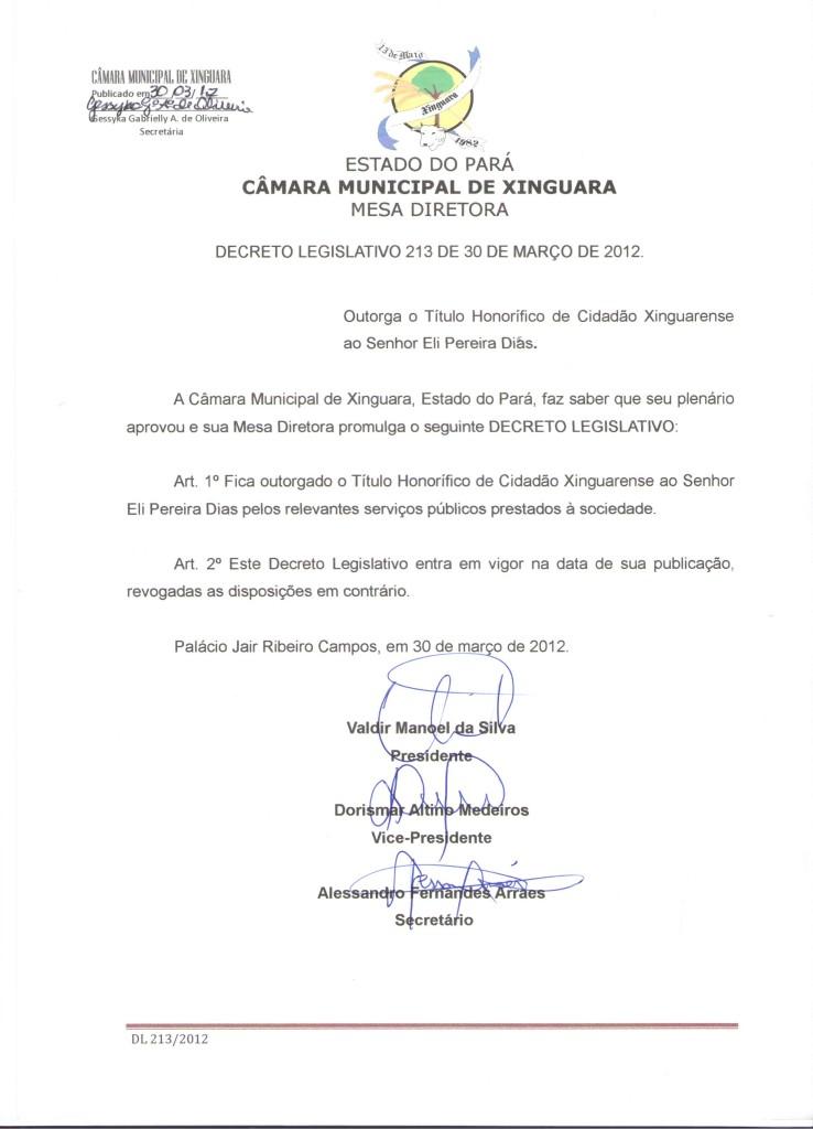 Decreto nº 213