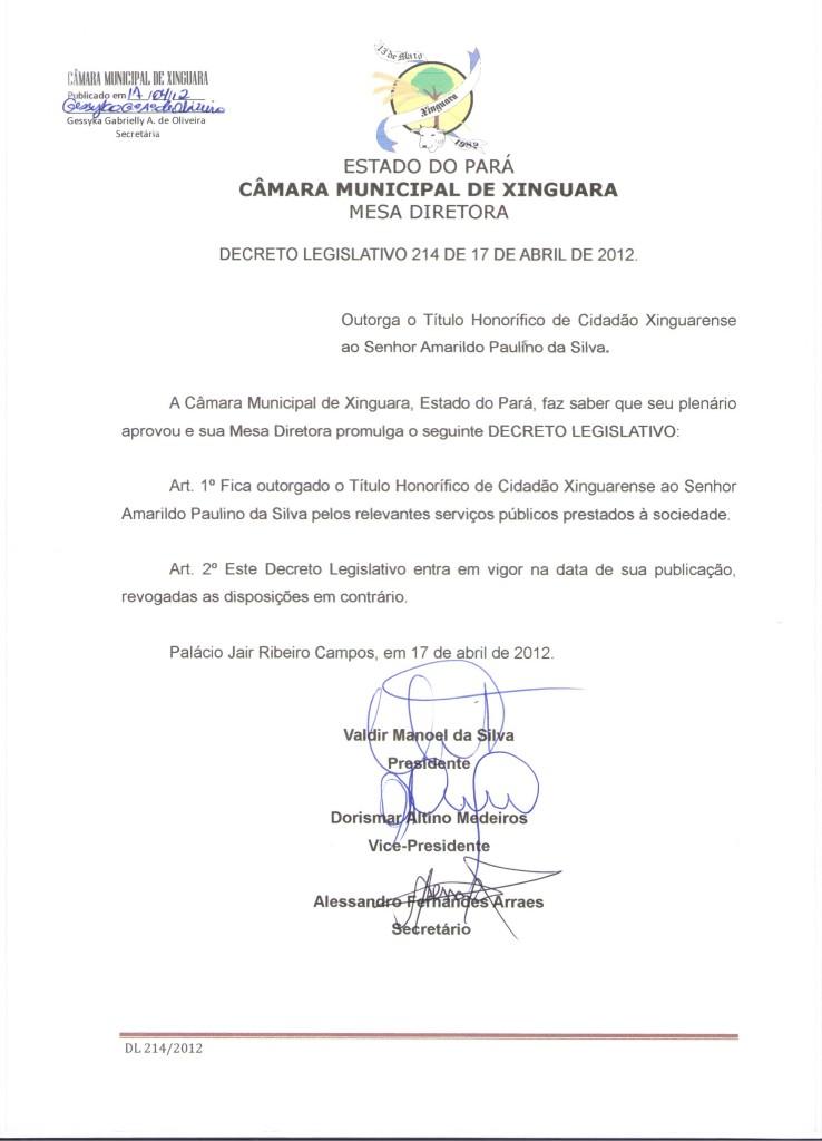 Decreto nº 214
