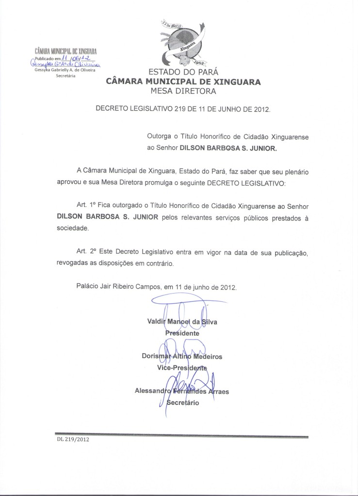 Decreto nº 219