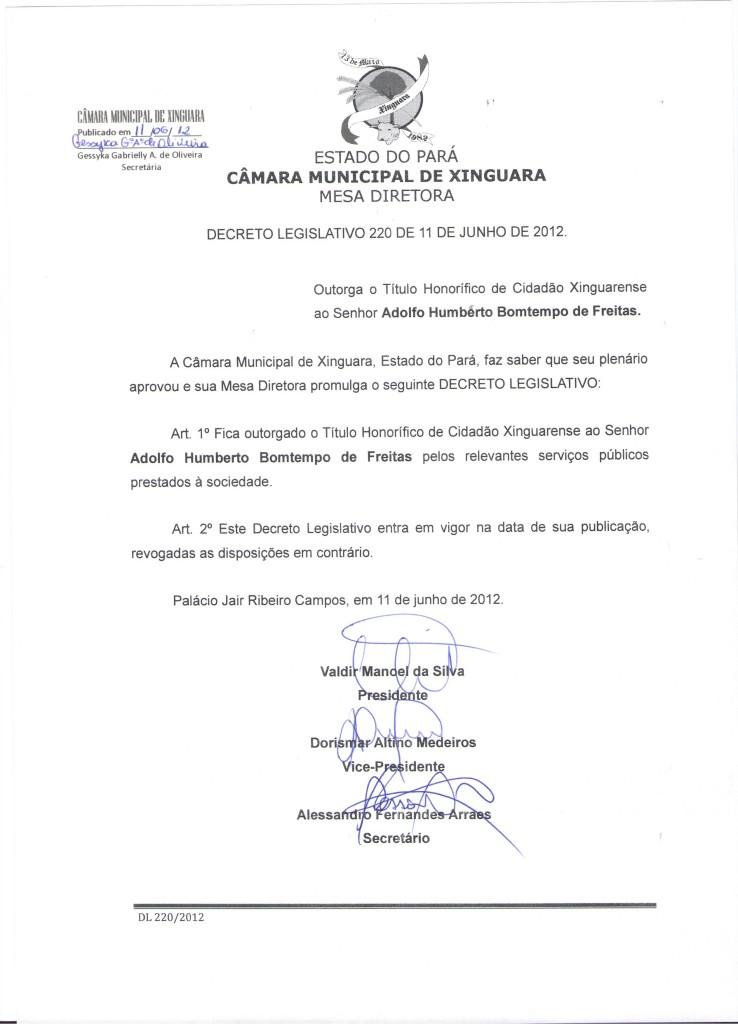 Decreto nº 220