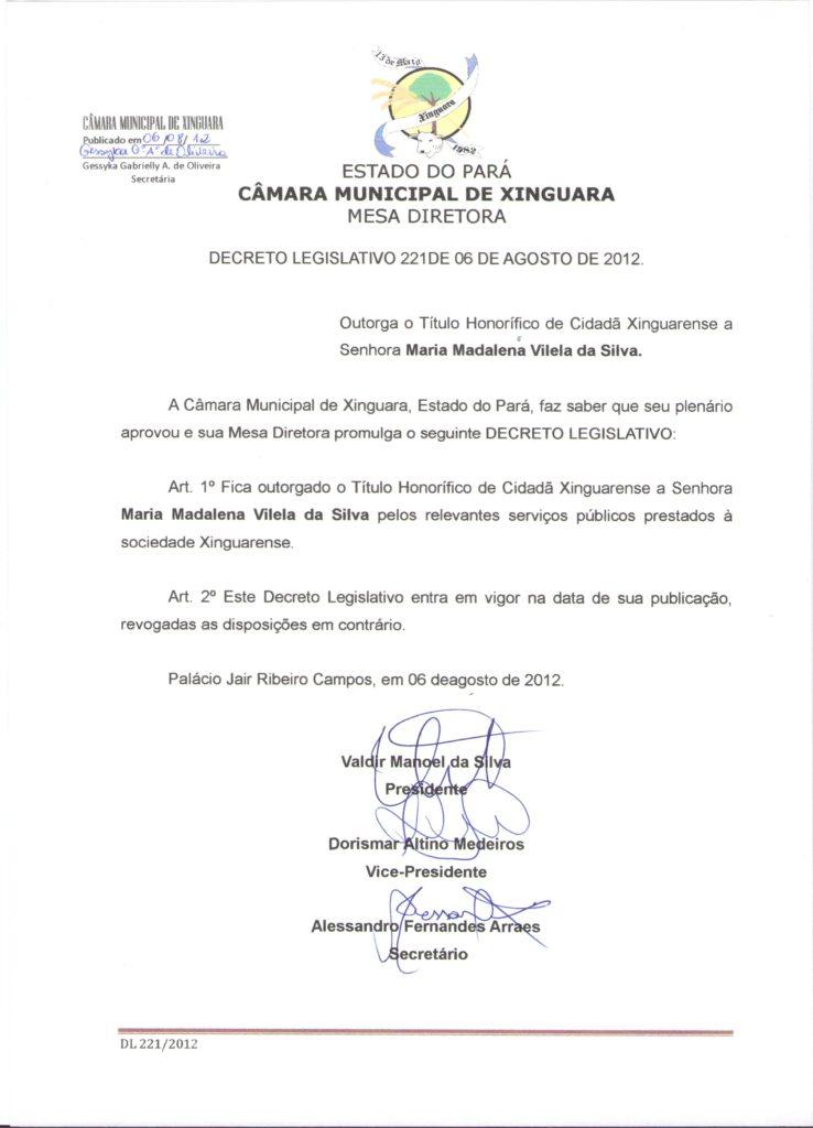 Decreto nº 221