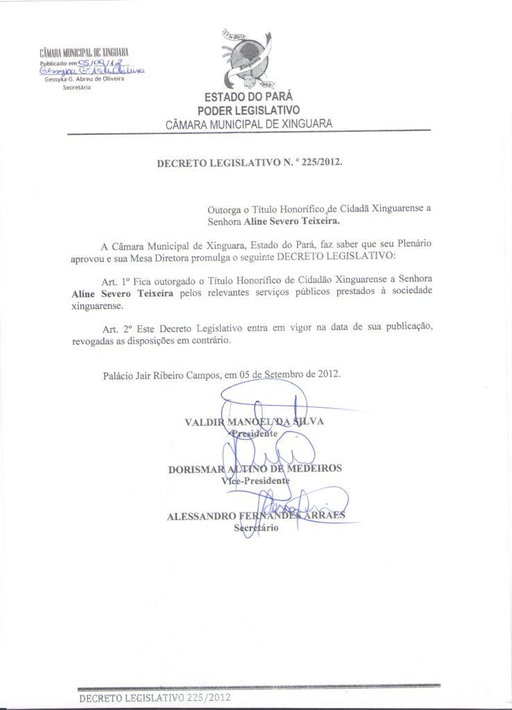 Decreto nº 225